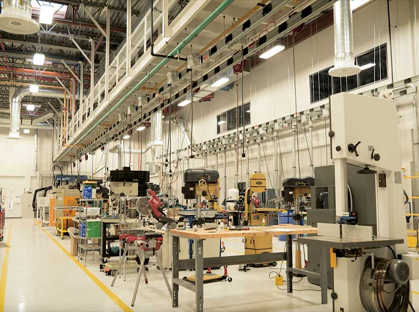 Inside the Center for Manufacturing Excellence